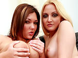 Ariel Summer & Claire Dames on couplesseduceteens