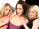 Nevaeh Ryan Keely & Sammie Rhodes on backseatbangers