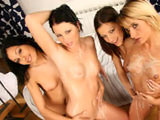 Belicia Eufrat Gia & Aneta on couplesseduceteens