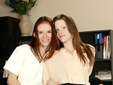 Serenity & Ivy on herfirstlesbiansex