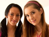 Leonelle Knox & Kattie Gold on couplesseduceteens