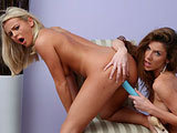 Bree Olson & Kayla Paige on pinkvisualpass