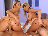 Daria Glower & Christina Lee on couplesseduceteens