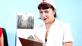 Nurse on gangbangsquad