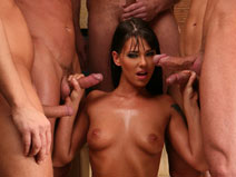 Simony Diamond on gangbangsquad